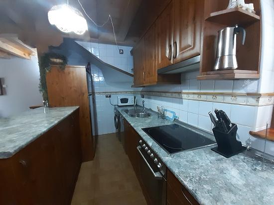 cocina en casa aranesa